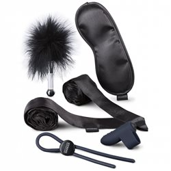 Fifty Shades Darker - Principles of Lust Romantic Couples Kit Black - zestaw erotyczny