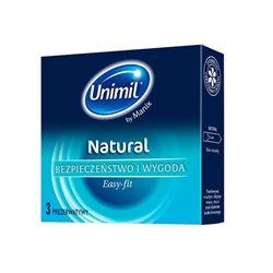 Unimil Natural (1op/3 szt.) - prezerwatywy