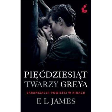 Pięćdziesiąt twarzy Greya -  książka erotyk