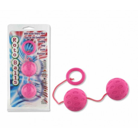 Roto Balls Non Vibrating Pink - kulki gejszy