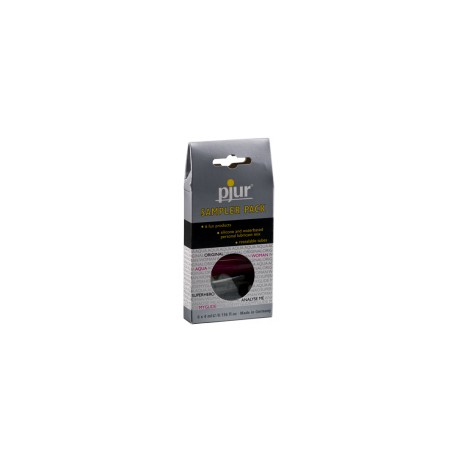 Pjur Sampler Pack (6x4ml) - lubrykant