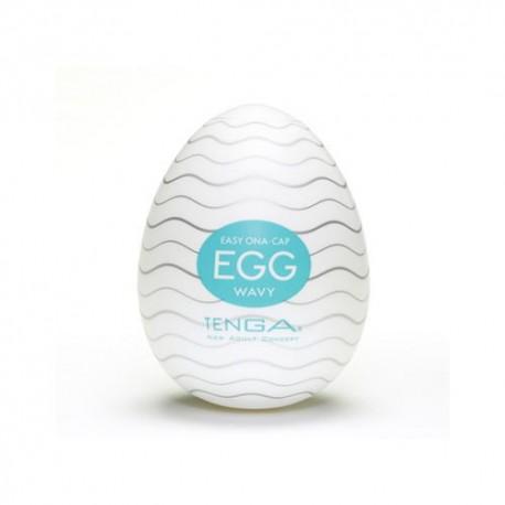 Jajo Masturbator Tenga Egg Wavy