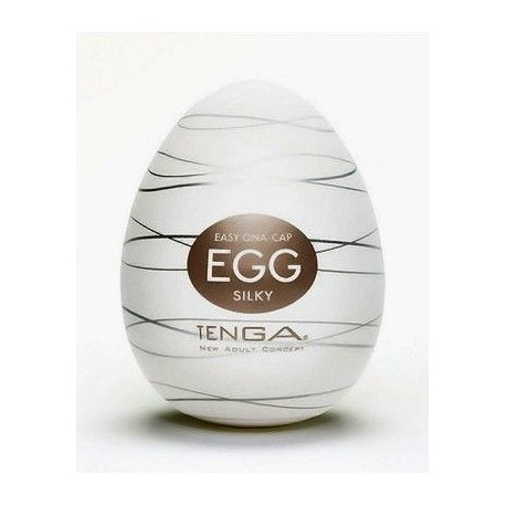Jajo Masturbator Tenga Egg Silky