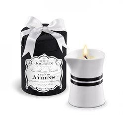 Petits Joujoux Fine Massage Candles - A trip to Athens (duża) - olejek do masażu