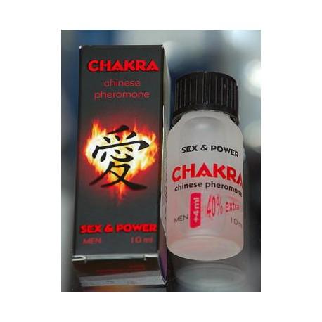 Męskie perfumy z feromonami Chakra 10 ml