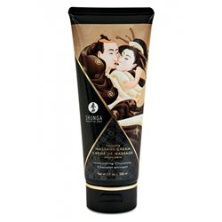 Shunga - Intoxicating Chocolate Kissable Massage Cream 200 ml - krem do masażu