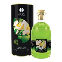 Shunga - Exotic Green Tea Organic Warming Oil 100 ml - olejek do masażu