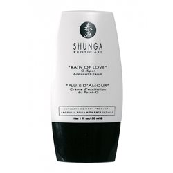 Shunga - Rain of Love G-spot Arousal Cream 30 ml - żel dopochwowy