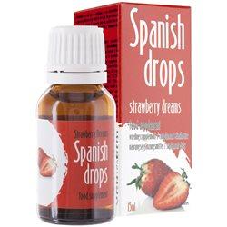 Spanish Drops Strawberry - hiszpańska mucha o smaku truskawkowym 15 ml