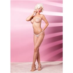 Anais Estamo bodystocking białe L/XL