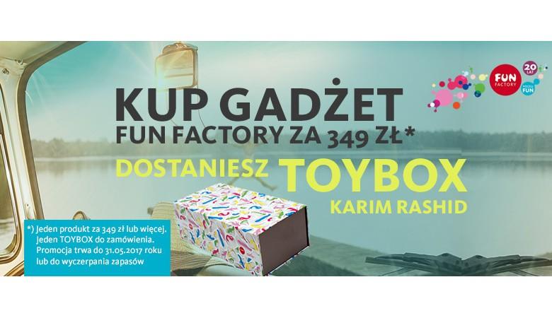 Toybag dla produktów Fun Factory!