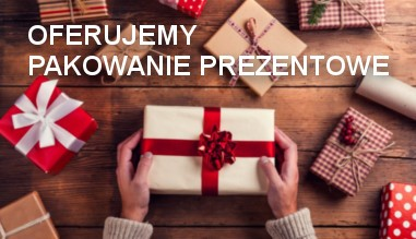 Kupując w naszym sklepie możesz otrzymać pakowanie prezentowe