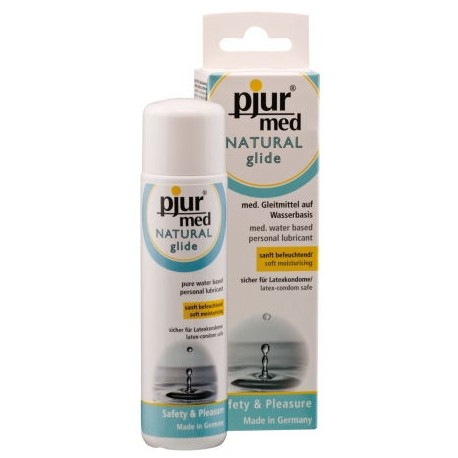 Pjur med NATURAL glide 100ml - lubrykant