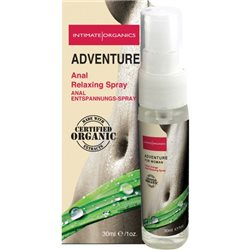Intimate Organics - Adventure 30ml - analny spray rozluźniający