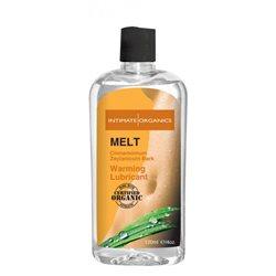 Intimate Organics - Melt 120ml - lubrykant rozgrzewający z cynamonem