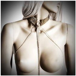 Bijoux Indiscrets - Désir Métallique Collar - złota obroża