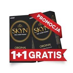 UNIMIL: 2 za 1 SKYN Original nielateksowe (2op/20 szt.) - prezerwatywy