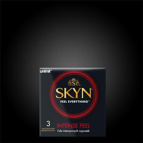 Unimil SKYN Intense Feel (1op/3 szt.) - prezerwatywy