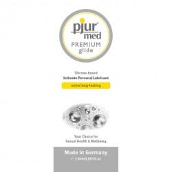 Pjur med PREMIUM glide 2ml - lubrykant