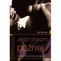 Jego orgazm później -  książka erotyk