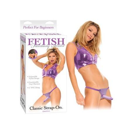 Ff Classic Strap-On Purple