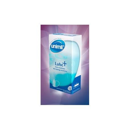 Unimil Lube+ (1op/12 szt.) - prezerwatywy