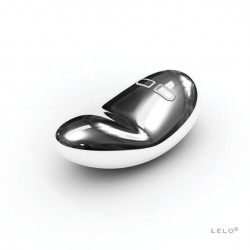 LELO Yva Vibrator Silver - ekskluzywny wibrator