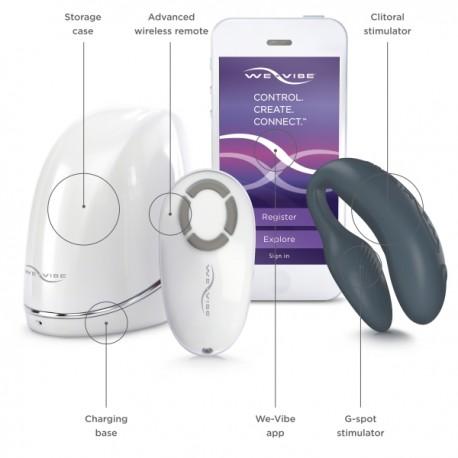 We-Vibe 4 Plus - ekskluzywny zdalnie sterowany wibrator dla par