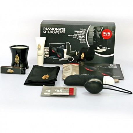 FUN FACTORY Passionate BOX - kulki gejszy, wibrator - zestaw erotyczny