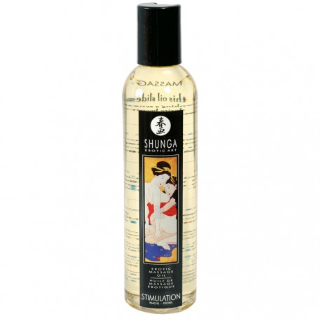 Shunga Massage Oil Stimulation 250ml - olejek do masażu
