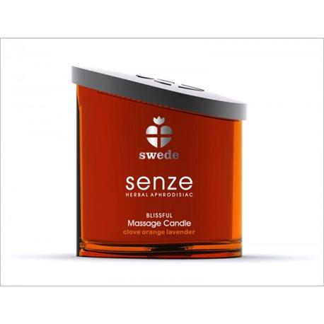 Świeca do masażu Senze Massage Candle Blissful