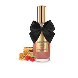 Bijoux Indiscrets Light My Fire - rozgrzewający olejek do masażu poziomkowy 100 ml