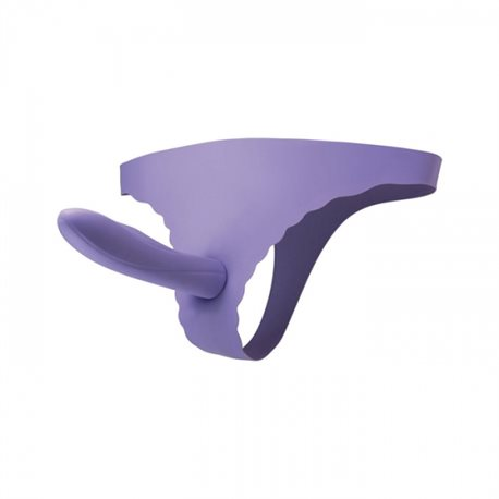Vibe Therapy - Gratify Strap-on, fioletowy