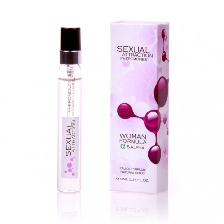 Sexual Attraction Pheromones  Woman Formula 5-alpha