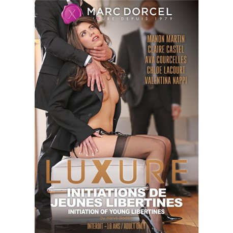DVD - Luxure - Initiation of young libertines