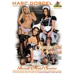 DVD - Soubrettes services - Claire & Cara at your service