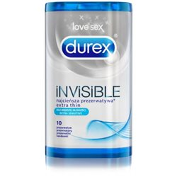 Prezerwatywy Durex Invisible A10 supercienkie