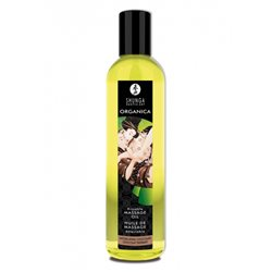 Shunga - Intoxicating Chocolate Organic Massage Oil 250 ml - olejek do masażu