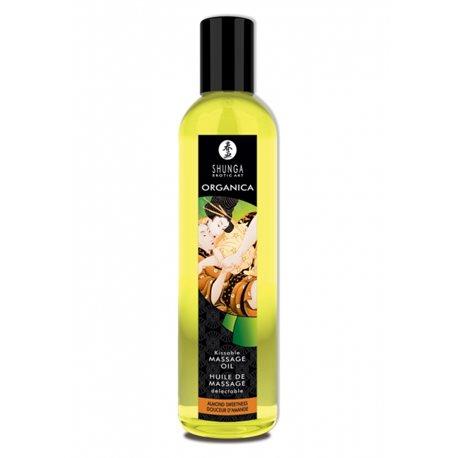 Shunga - Almond Sweetness Organic Massage Oil 250 ml
