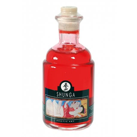 Shunga - Blazing Cherry Warming Oil 100 ml