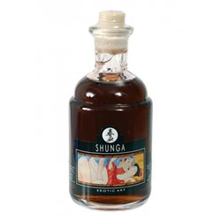Shunga - Aphrodisiac Chocolate Warming Oil 100 ml - olejek do masażu