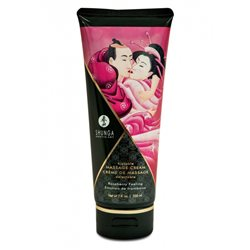 Shunga - Raspberry Feeling Kissable Massage Cream 200 ml
