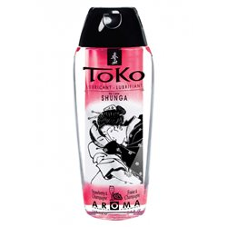 Shunga - Toko Lubricant Strawberry 165 ml - lubrykant