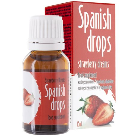 Spanish Drops Strawberry 15 ml