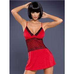 Obsessive Lamia koszulka i stringi czerwone XXL