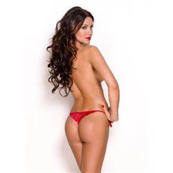 Anais Nessa stringi czerwone XL