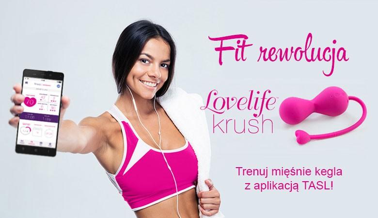 Lovelife Krush - wibrujace kulki gejszy sterowane aplikacją