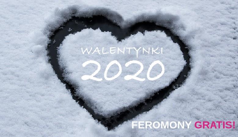 Z okazji WALENTYNEK do każdego zamówienia FEROMONY GRATIS!